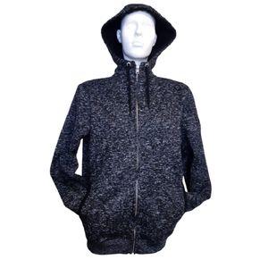 Buffalo | David Bitton | speckled zip up hoodie